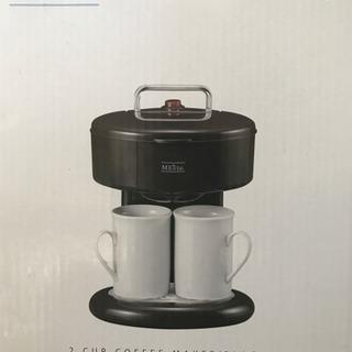 メリート 2カップコーヒーメーカー ブラック MM‐87…