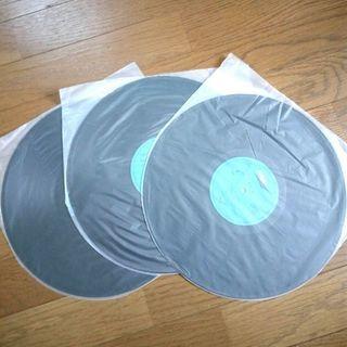 甲斐バンド 流民の歌 LPレコード(三枚組ライブアルバム)