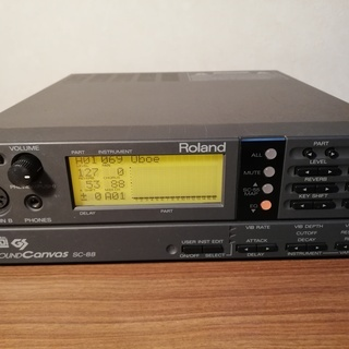 ROLAND SC-88(MIDI音源)