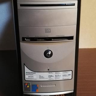 デスクトップパソコン(eMachines J4325)