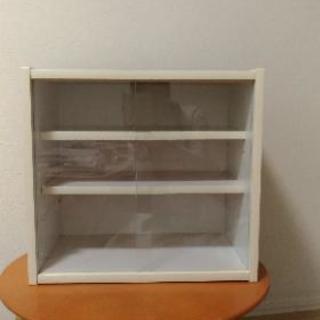 【無料】ミニ食器棚 カラーボックス