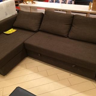 IKEA(イケア)フリーヘーテン収納付きコーナーソファー