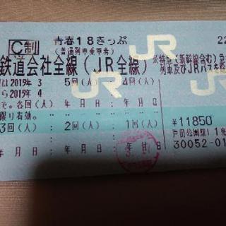 平成最後の18切符🚃💨