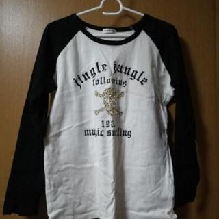 白&黒 Tシャツ サイズLL