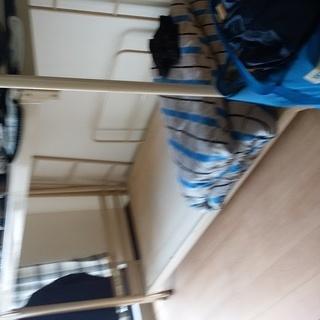 パイプ二段ベッドです。