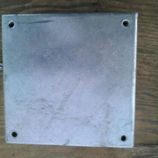 鉄カブセ防水ボックス