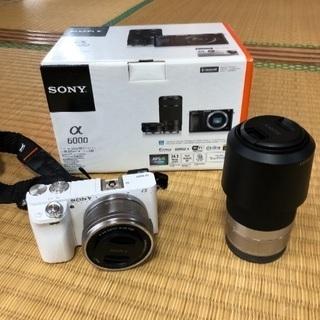 一眼レフカメラSONYα6000