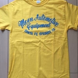 ムーンアイズ 黄色半袖Tシャツ 新品