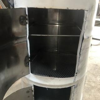 ドラム缶燻製器製作