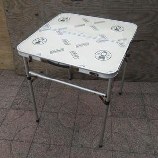■使用感有■キャンプ アウトドア用品 コールマン 折り畳みテーブル