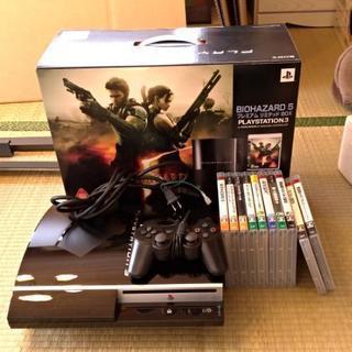 PS3 バイオハザードモデル ソフト付き