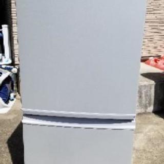 シャープ ノンフロン冷凍冷蔵庫 SJ-14T-S 2011年 137L