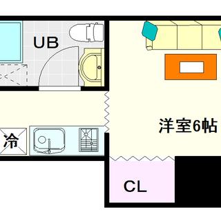 【寿ビル】5号タイプ!1Kタイプ!ヲタロード付近に住みたいならここ...