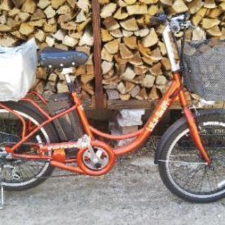 電動モペット!(フル電動自転車)。茨城県潮来市。※公道走行不可。