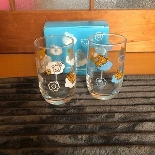 ミスドとリラックマのコラボのペアグラス