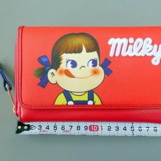 Milkyペコちゃん 長財布
