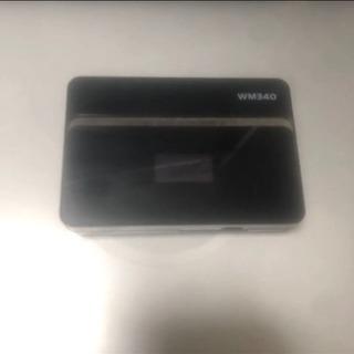 富士ソフト WM340 ポケットWifi SIMフリー ジャンク