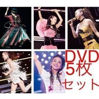 安室奈美恵、初回盤DVDセット.