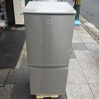 #2202 SHARP SJ-PD14Y 冷蔵庫 プラズマクラス...