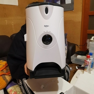 犬猫用 自動給餌器 見れる話せる 音声録音機能 説明文お願いいた...
