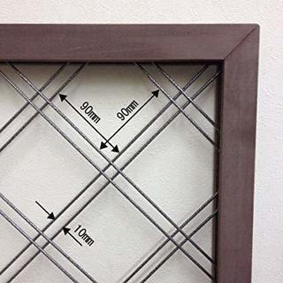 人工木 ラティス 90x90x3.5 x2コ組