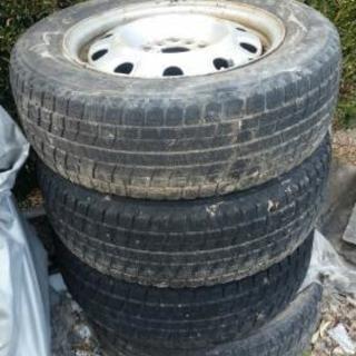 タイヤあげます
