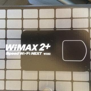 値下中! WiMAX 2+ Speed Wi-Fi NEXT wx02