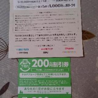 チヨダグループ 割引券 400円分