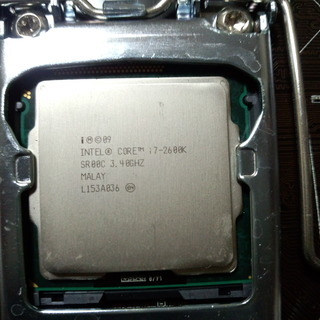 CPU LGA1155 Intel i7-2600k 中古…
