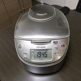 三菱電機 NJ-KH10  IHジャー炊飯器 シルバー 5.5合炊き