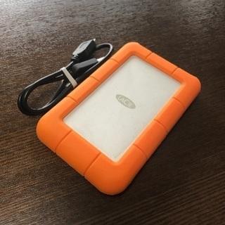 Lacie耐衝撃USBポータブルハードディスク 1TB