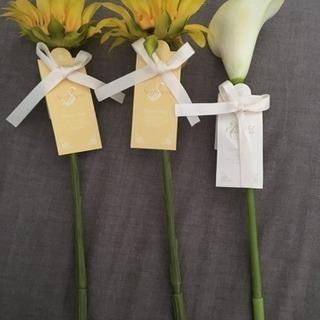 [未使用]お花のボールペン3種類セット