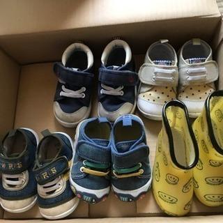 子供の靴13.0〜13.5の画像