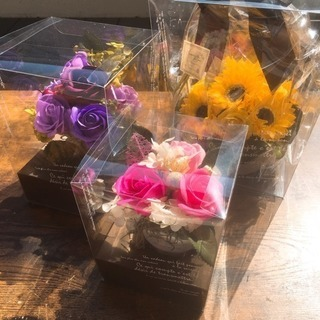 ★岡崎市 母の日企画絶対お得なシャボンフラワーアレンジレッスン★