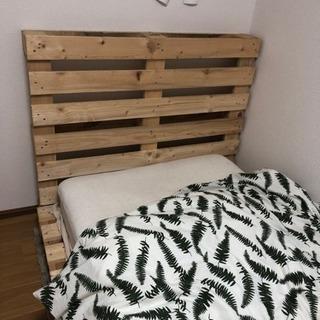 すのこベッド  ダブルサイズ