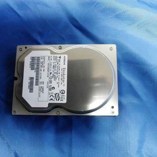 HITACHI ハードディスク80G差し上げます。