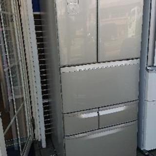 6ドア冷蔵庫 471L 東芝 ベジータ 自動製氷機能付 2012年製