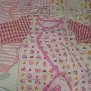 ベビー服(薄長袖3枚セット)