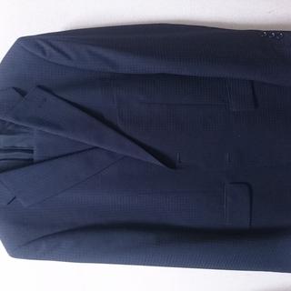 【再値下げ】【スーツ】春夏 メンズスーツ 2パンツ 紺(ネイビー...