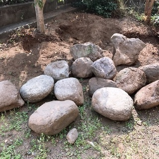 庭石 庭園作り 庭づくり