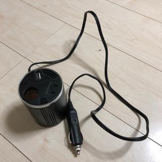 シガソケ USB コンセント