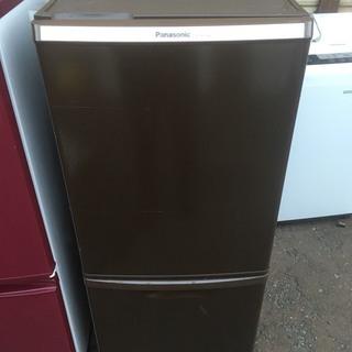 2014年製 Panasonic 冷蔵庫 ブラウン NR-B14...