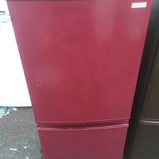2012年製 SHARP 冷蔵庫 SJ-C14X-R