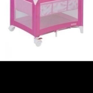 カトージ プレイヤードお昼寝マット付き 室内グッズ ピンクの画像