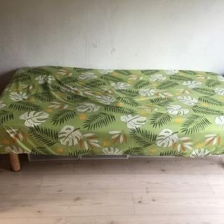 無印良品シングルベッド