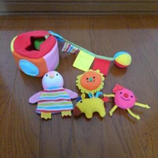 布おもちゃ(こどもチャレンジ)