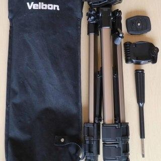 ベルボン Velbon 4段三脚 CX-444  ケース付