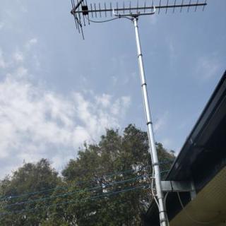 UHFアンテナ,ブースター,BSCSアンテナ(金額交渉可能)