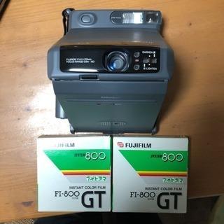 フジフィルム、インスタントカメラ。