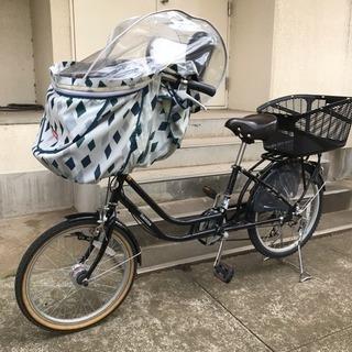 [受付再開]子供乗せ自転車(前乗せかご付き)20・22インチ
